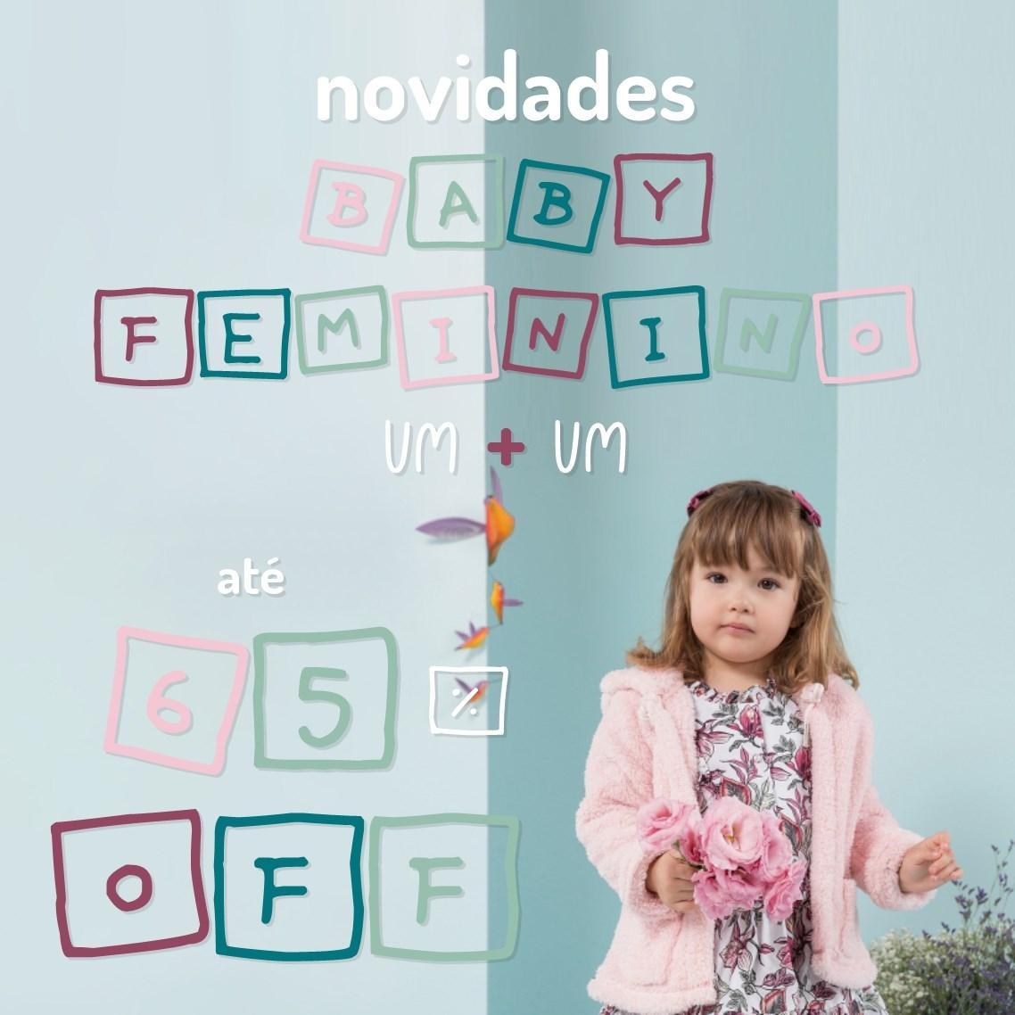 Novidades Baby Feminino...