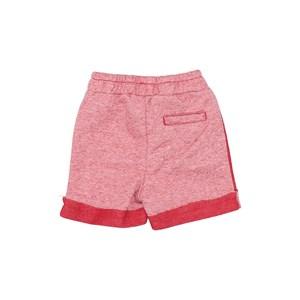 Bermuda Baby Menino Elástico Vermelho
