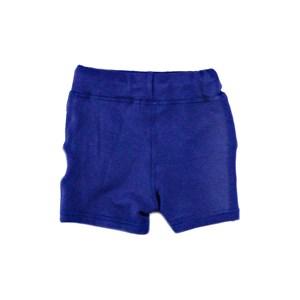 Bermuda Infantil / Baby Masculina Moletinho Viscose Com Lycra - 1+1 Marinho