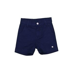 Bermuda infantil masculina com bolso embutido Marinho
