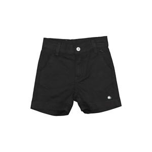 Bermuda infantil masculina com bolso embutido Preto
