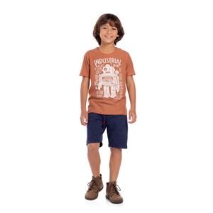 Bermuda Infantil Masculina Marinho