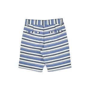 Bermuda Infantil / Teen Em  Sarja Listrada - Two Azul