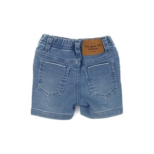 Bermuda Jeans Baby Menino Delave
