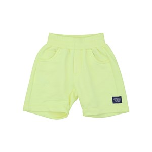 Bermuda Masculina Infantil Amarelo Neon             Fluor