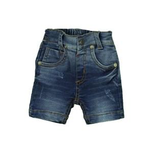 Bermuda Masculina Infantil / Baby Em Jeans Moletom - Um Mais Um Stone