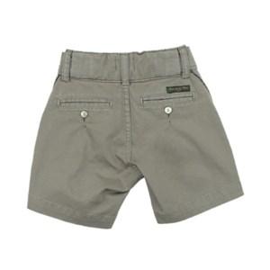 Bermuda Masculina Infantil / Kids Em Jeans Com Lycra - Um Mais Um Caqui