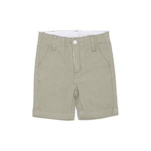 Bermuda Masculina Infantil / Kids Em Sarja Com Lycra - Um Mais Um Areia