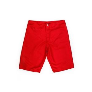 Bermuda Masculina Infantil / Teen Em Nylon Tactel - Twoin Vermelho