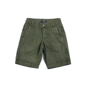 Bermuda Masculina Infantil / Teen Em Sarja - Two Verde