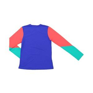 Blusa De Proteção Femeninina Infantil Colorida Royal