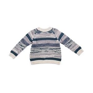 Blusa De Tricot Masculina Infantil / Kids Em Fio Acricotton - 1+1 Verde