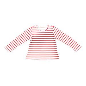 Blusa Feminina Infantil / Kids Em Malha C/ Lycra - 1+1 Vermelho