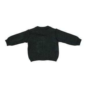 Blusa Infantil / Baby Em Tricot - Um Mais Um Preto
