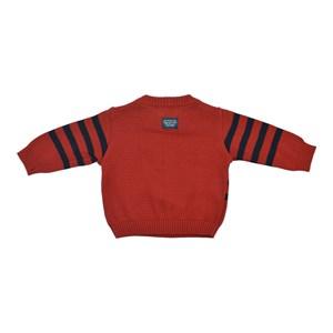Blusa Infantil / Baby Em Tricot - Um Mais Um Vermelho