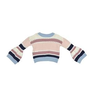 Blusa Infantil / Kids Em Tricot - Beaba Rosa Claro