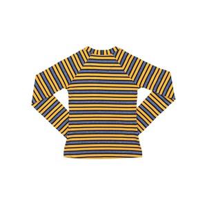 Blusa Infantil / Teen Em Viscolinho Listrado  - Two In Amarelo Canario