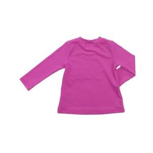 - Blusa Proteção Feminina Infantil / Kids Em Lycra Suplex De Poliamida - Um Mais Um Pink