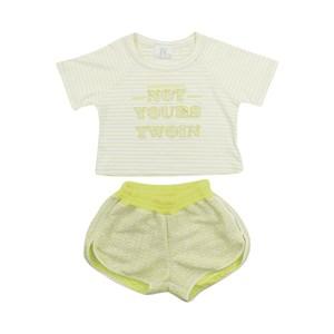 Blusa/Short Verde Fluor