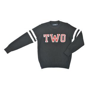 Blusa-Tricot / Teen Em Tricot - Two Preto