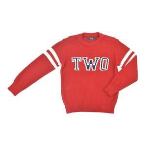 Blusa-Tricot / Teen Em Tricot - Two Vermelho