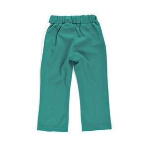 Calça De Moletom Infantil Feminina Em Moletinho Com Lycra E Malha Trilobal Flanelada - 1+1 Verde