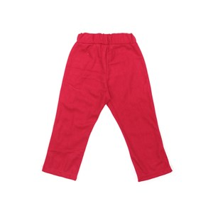 Calça De Moletom Infantil Feminina Em Moletinho Com Lycra E Malha Trilobal Flanelada - 1+1 Vermelho