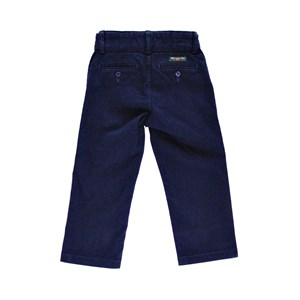 Calça De Sarja Infantil Masculina - 1+1 Marinho