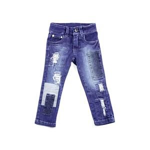 Calça Feminina Infantil / Kids Em Jeans Com Lycra - 1+1 Stone