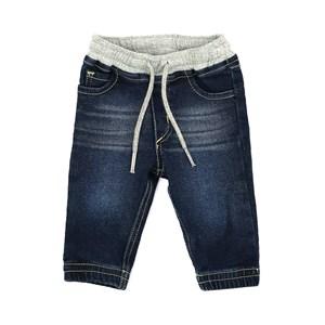 Calça Infantil / Baby Em Jeans Maquinetado - Um Mais Um Única