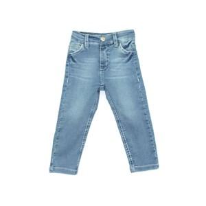 Calça Infantil/Kids Masculino Em Jeans Moletom - Um Mais Um Delave