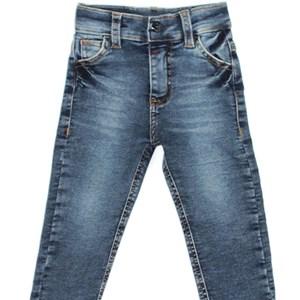 Calça Infantil/Kids Masculino Em Jeans Moletom - Um Mais Um Stone