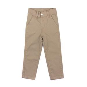 Calça Infantil/Kids Masculino Em Sarja Com Lycra - Um Mais Um Caqui