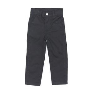 Calça Infantil/Kids Masculino Em Sarja Com Lycra - Um Mais Um Preto