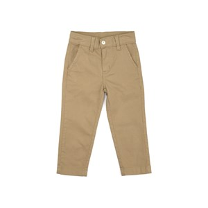 Calça infantil masculina com bolso embutido CAQUI