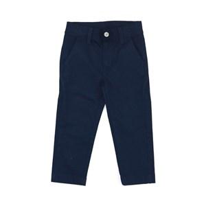 Calça Infantil Masculina Com Bolso Embutido Marinho