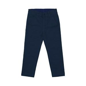Calça infantil masculina em sarja Marinho