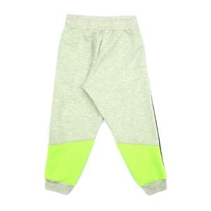 Calça Infantil / Teen Em  Moletom Sem Felpa Dupla Face C/Deltalhes - Two Verde Fluor