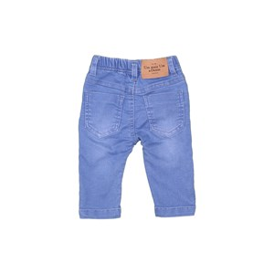 Calça Jeans Baby Com Elástico Delave