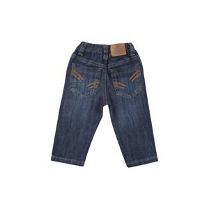 Calca Masculina Infantil / Baby Em Jeans Com Lycra - Um Mais Um Única