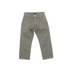 Calça Masculina Infantil / Kids Em Sarja Com Lycra - Um Mais Um Caqui