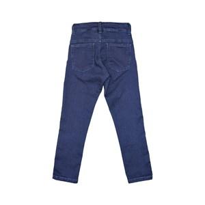 Calça Masculina Infantil / Teen Em Jeans Com Lycra Acetinado - Twoin Azul