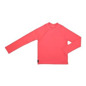 Camisa De Proteção Uv Infantil Masculina Lisa Laranja Escuro