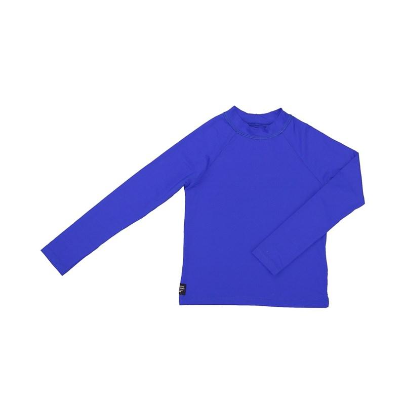 Camisa De Proteção Uv Infantil Masculina Lisa Royal