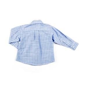 Camisa Infantil / Baby Masculina Listrada - 1+1 Azul Claro