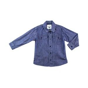 Camisa Infantil Em Tricoline Estampada - 1+1 Stone