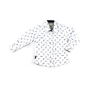 Camisa Infantil Masculina - 1+1 Branco