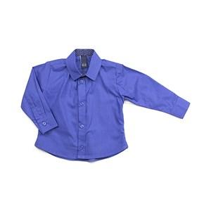 Camisa Masculina Infantil / Baby Em Tricoline Galles - 1+1 Royal