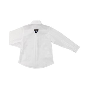 Camisa masculina infantil / kids em trcioline com entretela - um mais um BRANCO