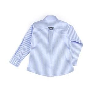 Camisa Masculina Infantil / Kids Em Tricoline - 1 + 1 Azul Claro